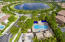 Aerial View of Community Pool