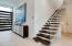 SIW Pivot Grand Entryway Door & Floating Star Crystal Glass Stairwell