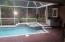 Pool, patio, summer kitchen
