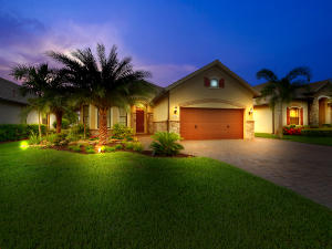 Professionally Landscaped & With Accent Lighting