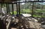 Screend in Deck Porch, overlooks fresh water lake , westerly view