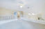 Loft for use as a second living area, childrens' play area, office, exercise equipment, 5th Bedroom, etc!