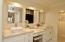 Master Bath, White Quartzite Counters