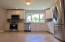 Large open kitchen with EVERYTHING brand NEW top to bottom, including plumbing & electrical