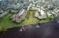 Aerial of Condo & Dock