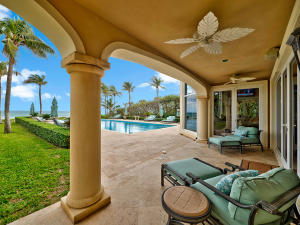 Covered Patio off Family Room