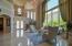 2 story Formal Living Room