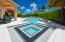 Full control of all pool functions including linear flow water features from pool-side remote.