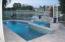 Heated salt pool/spa w/double spills & lake view