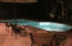Evening shot of swimming pool