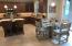 Kitchen and casual dining view