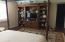 Another view of Master Bedroom and custom wall unit