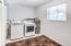 Separate Laundry Room. Kenmore Elite Washer/Dryer.