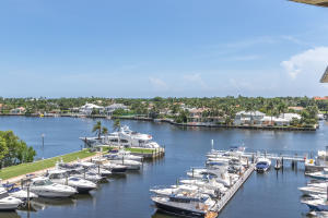 Relax on your balcony and enjoy views of the Marina, Intracoastal and Ocean!