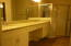 Upgraded Master bathroom with New fixtures
