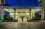 Entrance Portico At Twilight