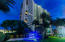 Ocean Towers at Twilight