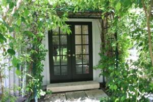 French Doors to Garden
