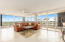 Living Room with North and West sunset views.
