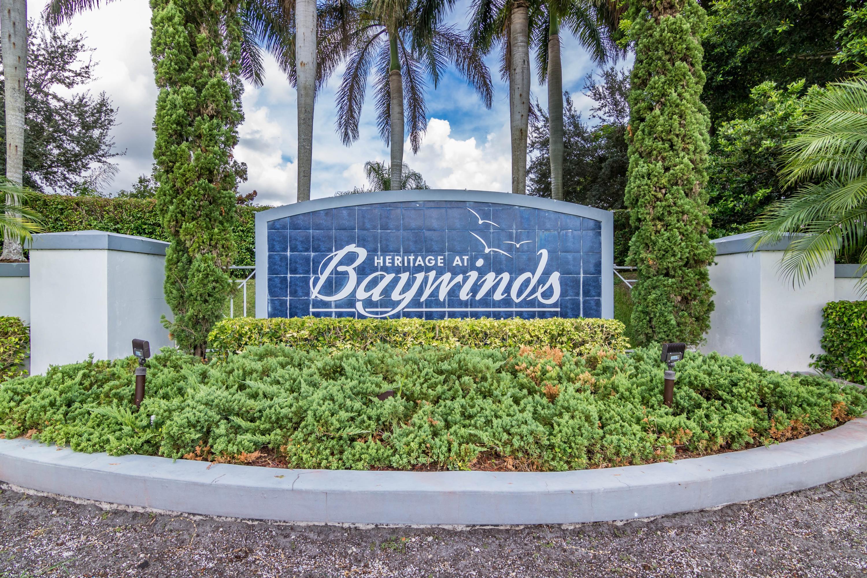 SOLD - BAYWINDS - West Palm Beach - MLS RX-10371375