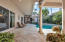 Spacious courtyard with plenty of space for dining and entertaining.