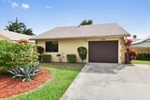 Single family house, 2 bedrooms, 2 bath. Perfect sq. ft - not too big, not too small.