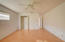2 closets and 1 walk-in the Master Bedroom