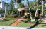 Southern Exposure of this lushly landscaped private retreat.