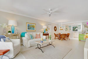 Open and inviting living space with beautiful large tile flooring thought out the property