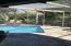 Recently resurfaced pool and deck