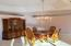 Dining with tray ceiling