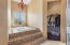 Luxurious jetted soaking tub