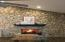 Wood Burning Fireplace for Entertaining