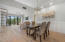 Large Dining Area with Intracoastal Views