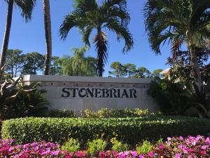 Entrance Sign to Stonebriar