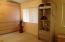 The second master bedroom suite is the only room upstairs.
