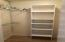 Walk-in Closet - Shelves