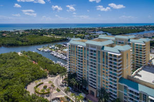 14th floor. Faces north with 180 degree views of Intracoastal and Atlantic Ocean.