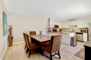 Remodeled kitchen and dining area