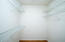 LARGE WALK-IN CLOSET IN MASTER BEDROOM