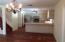Brand new kitchen with center island, SS appliances, wine cooler!