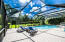 Oversized outside pool area, makes for great entertaining. Move the loungers and set up a full band or DJ for any celebration