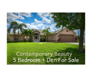 5 Bedroom + Den For Sale