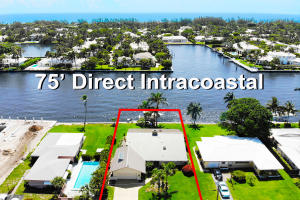 75' Direct Intracoastal Waterfront property in Delray Beach Florida