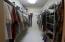 Men's master closet