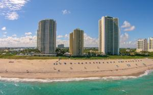 Phoenix Towers is located on the widest part of the Singer Island beach.