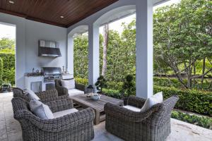 Summer Kitchen/Patio Sitting Area