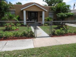 418 Mayflower Road, West Palm Beach, FL 33405