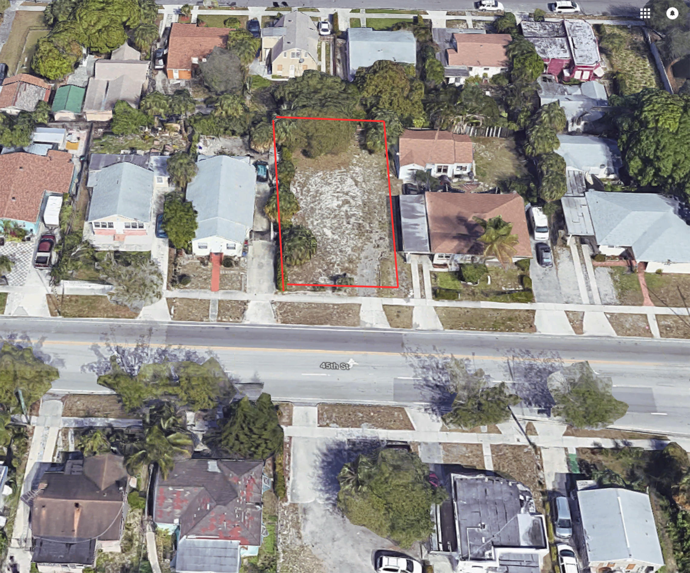 631 45th. Street, West Palm Beach, Florida 33407, ,Land,For Sale,45th.,RX-10402789