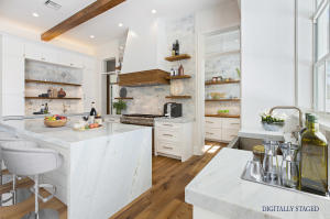 Digitally Staged Kitchen